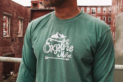 Explore More Unisex LS Dyed Shirt