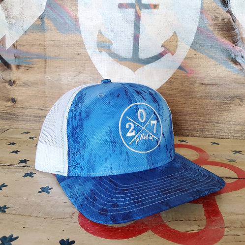 207 Kid Fishing Trucker Hat