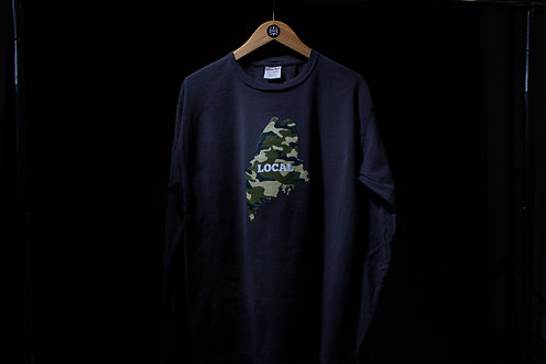 Local Camo Unisex Dyed LS Shirt