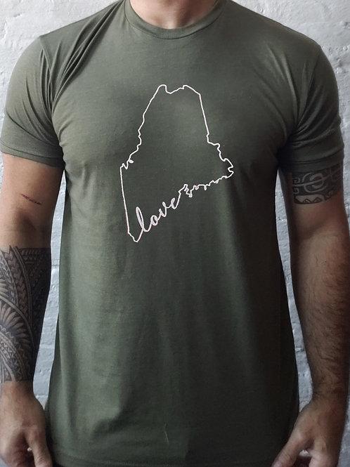 Maine Love Men's Shirt