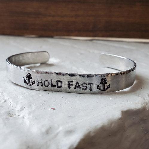 Hold Fast Metal Bracelet