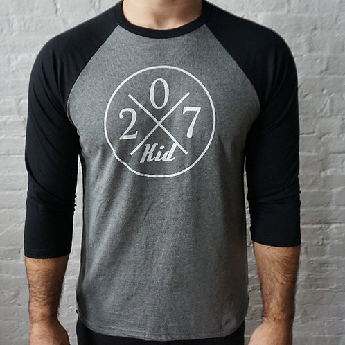 207 Kid Men's 3/4 Baseball Shirt V2