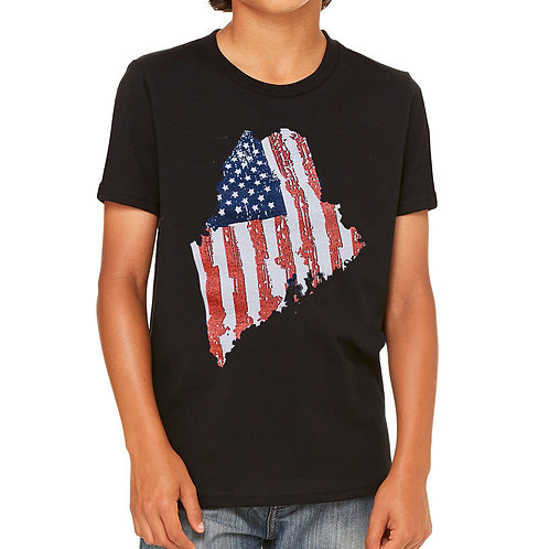 Maine State 4th Youth Shirt