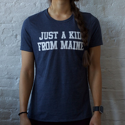 Just a Kid From Maine Women's Crewneck