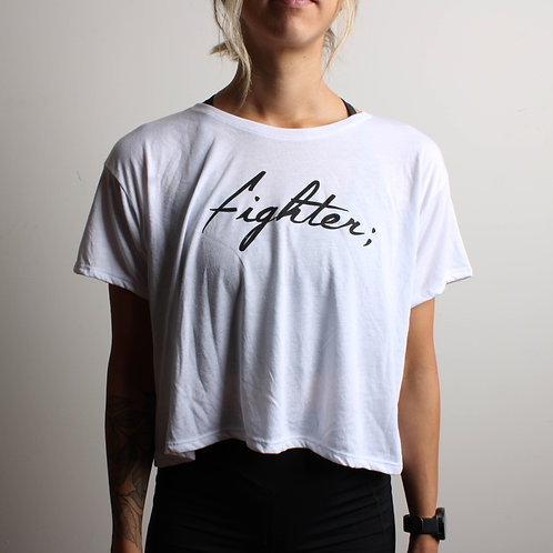 Fighter; Cropped Shirt