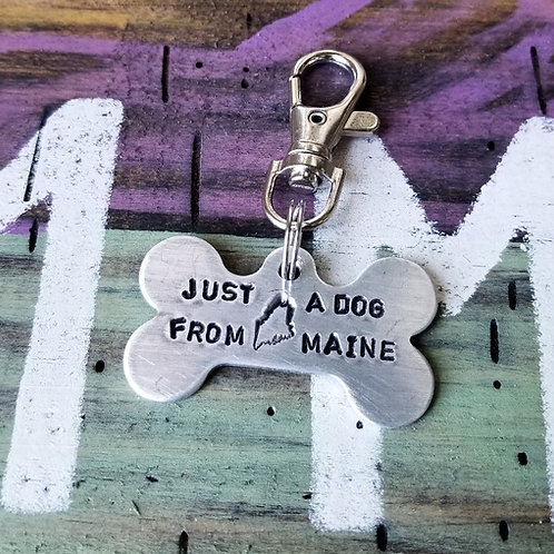 Just a dog from Maine Dog Charm