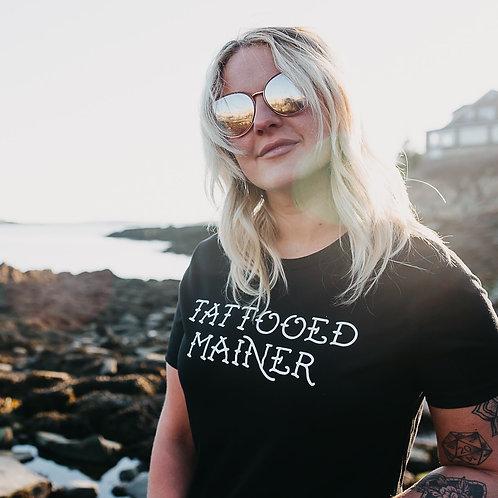 Original Tattooed Mainer Women's Shirt