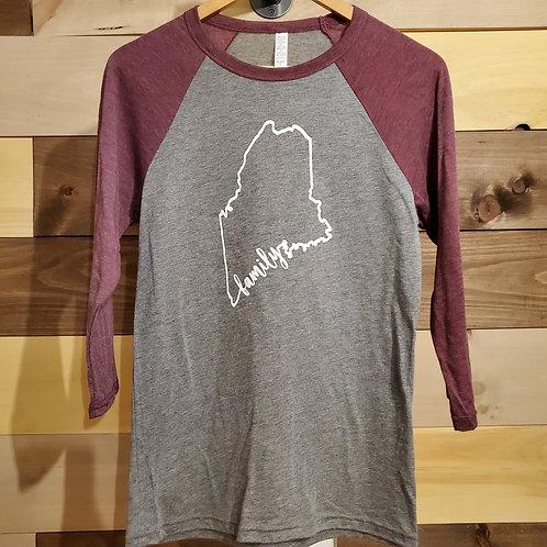 Unisex 3/4 Family Coastline Shirt