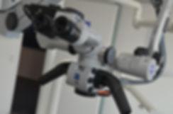 Wurzelbehandlung Mikroskop