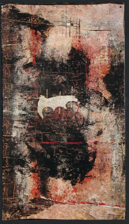 Palimpseste II 128 x 82 cm