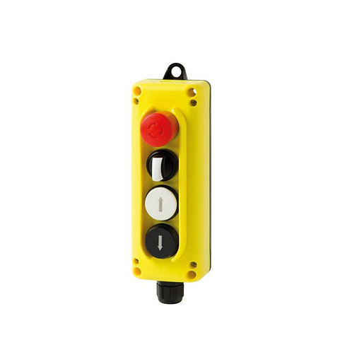 (4 buttons) TLP4 wall-mounted control station