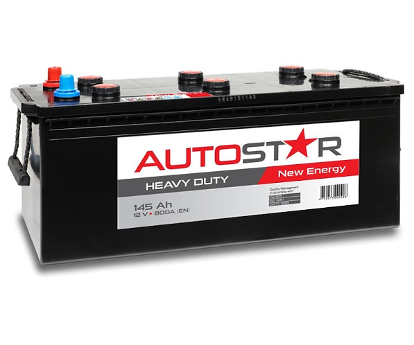 AUTO STAR 12V 145Ah 800A HD AKB 513x189x220