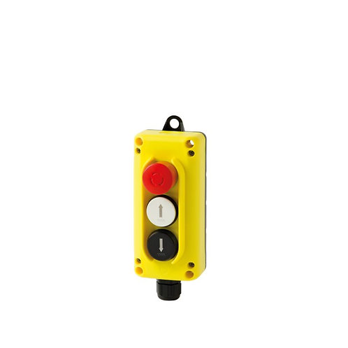 (3 buttons)  TLP3.B wall-mounted control station