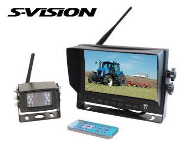 Wireless camera system, digital (up to 4 cam.)