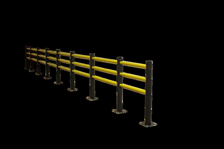 "Flexible Safety Railings ""Delta"" (3 Beams)"