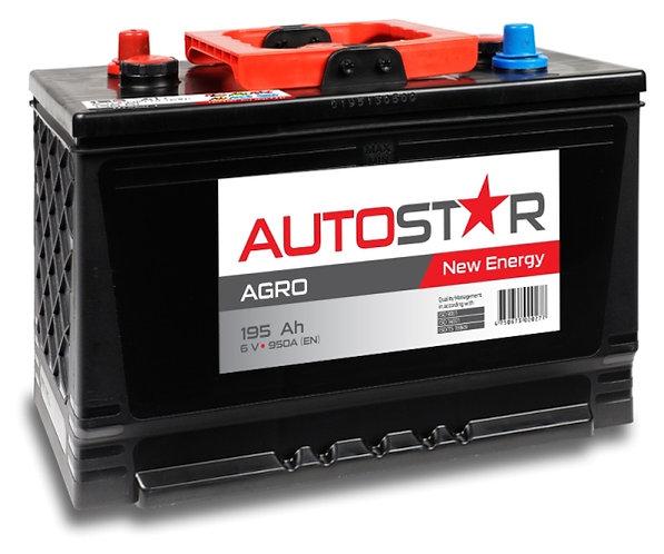 AUTO STAR 6V 195Ah 950A AGRO AKB 334x175x240