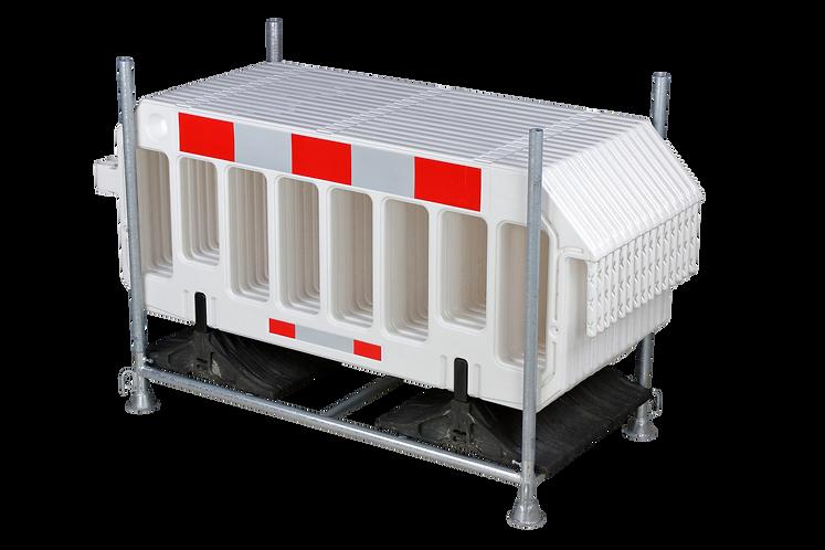 Storage and transport rack for Barrier Fence