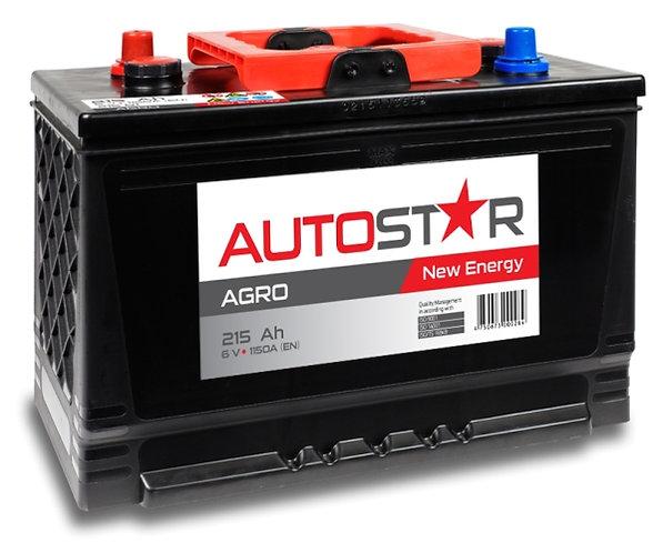 AUTO STAR 6V 215Ah 1150A AGRO AKB 334x175x240