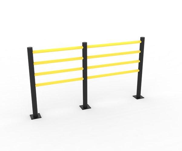 "Flexible Safety Railings ""Delta"" (4 Beams)"