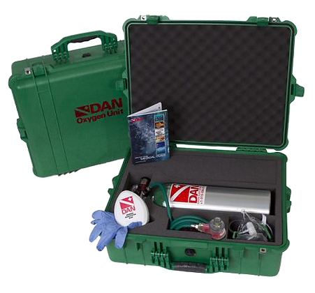 601-1100 DAN Rescue Pack Extended Care con MTV100