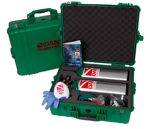 601-3100 DAN Dual Rescue Pak Extended Care with MTV-100
