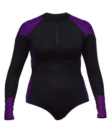 front purple