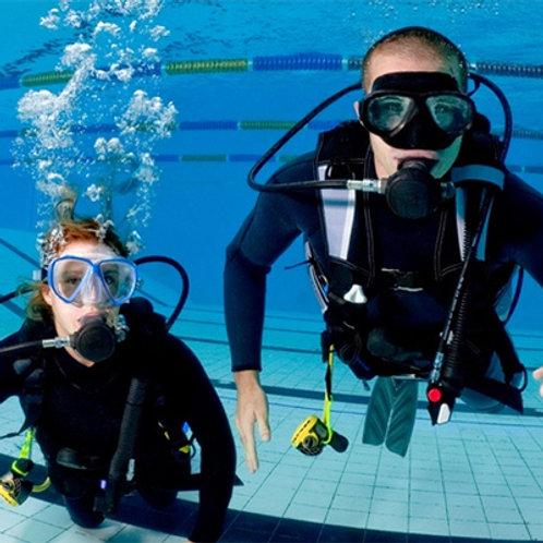 Iscrizione a prova subacquea in piscina