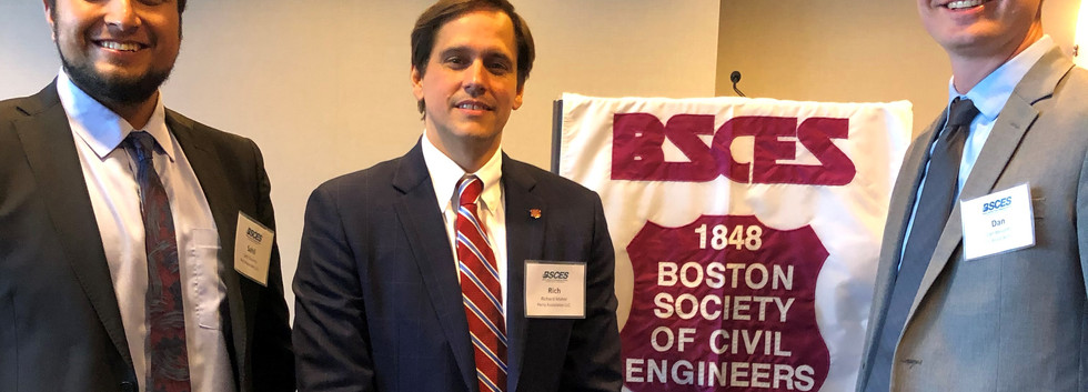 Rich Maher, Managing Associate, gets sworn in as BSCES President with PA Colleagues – 8/20/19