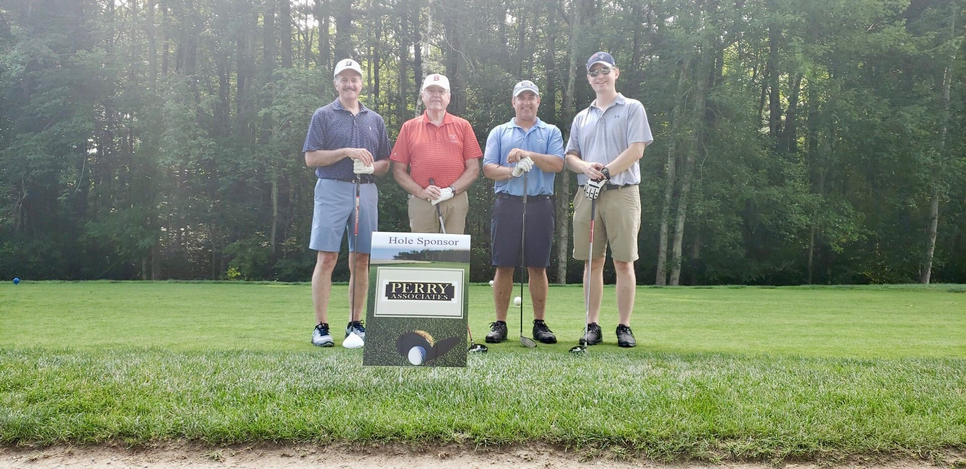 PA Staff participating in the Annual AGC Golf Classic at the Cape Club, Sharon – 7/22/19