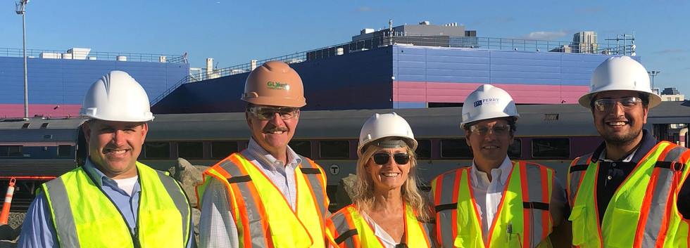 PA Team at BSCES/GLX Constructors Tour of the Green Line Extension Project - 9/25/19