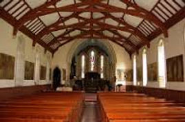 Inside Holy Trinity church in Casterton