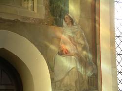 Annunciation (detail)