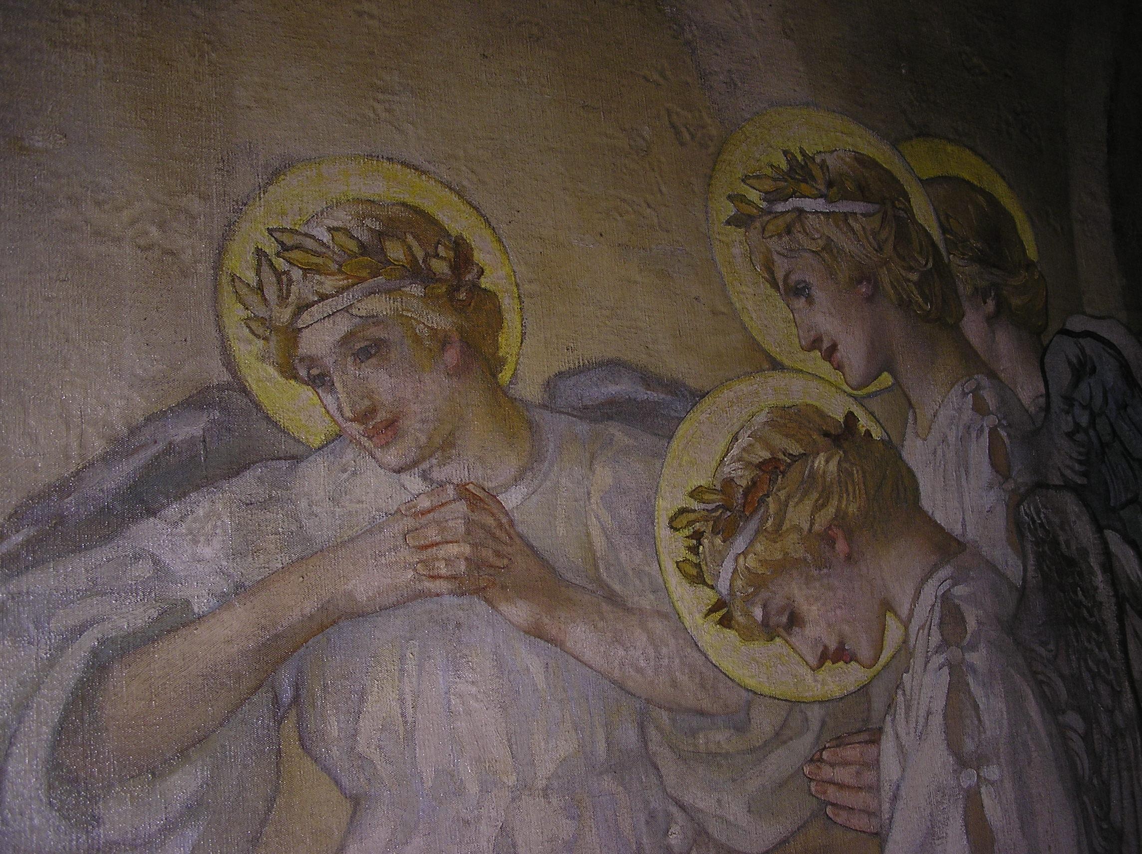 Nativity angels