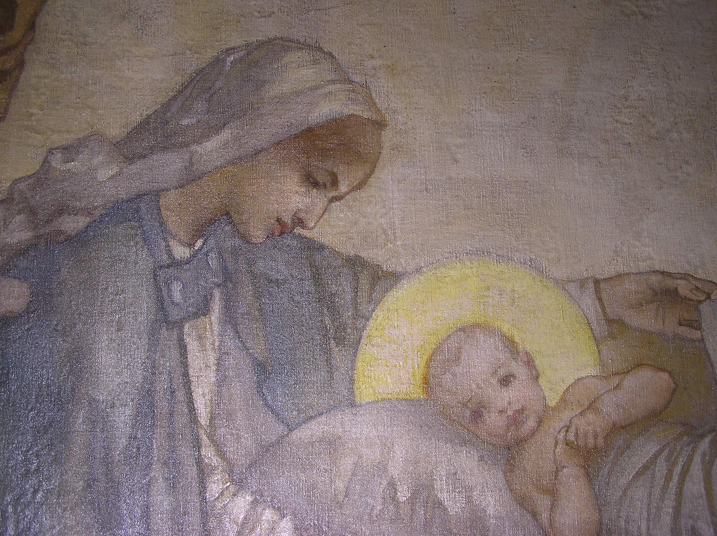 Mary & baby Jesus