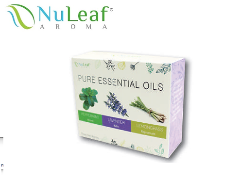 Essential Oils 3 Pack Color Box