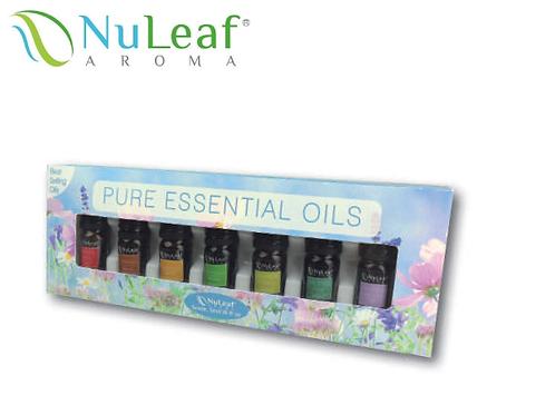 Essential Oils 7 Pack Color Box