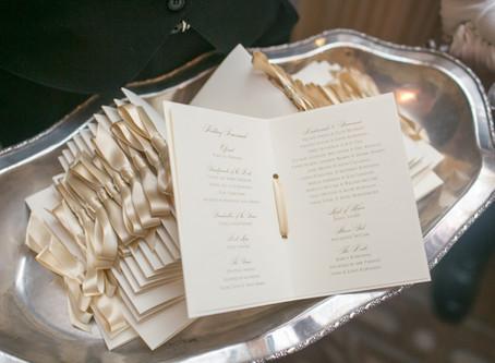Jewish Wedding Booklet--Do We Need A Program?