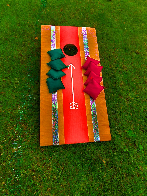 Hrací deska Cornhole se sáčky
