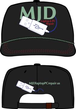 MJD Laptop & PC Repair Hat