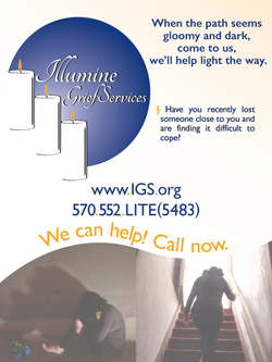 Illumine Grief Services Poster