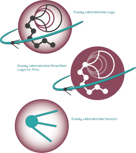 Dupay Laboratories Logo Rebrand