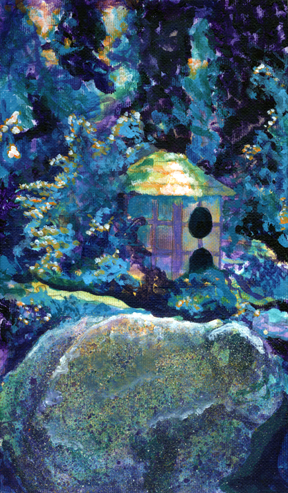 Painting Experiment ~ Garden