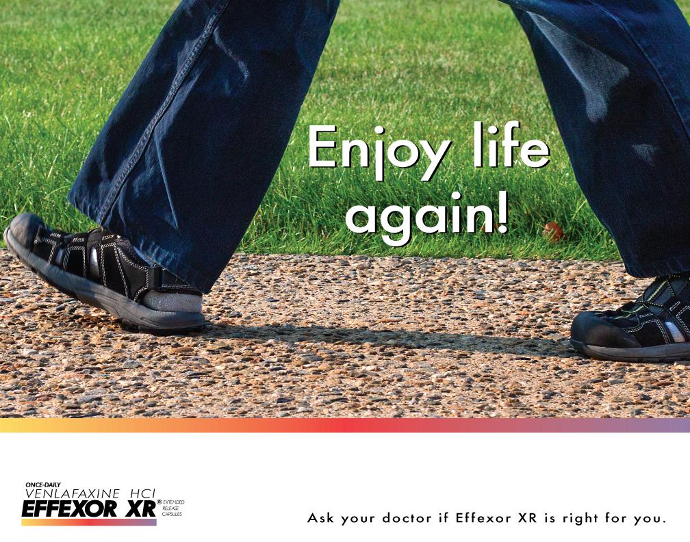 Effexor Ad Series ~ Enjoy Life Again