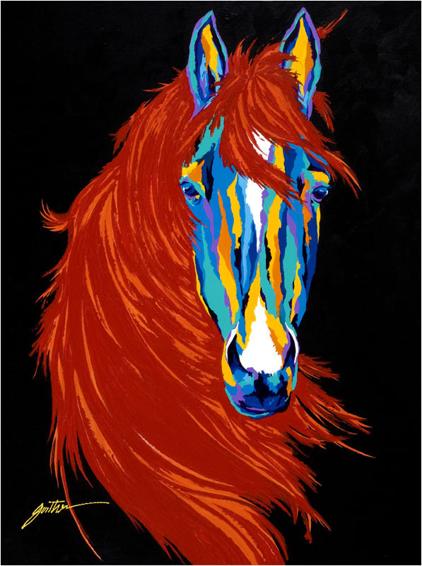 Mane Attraction 40x30