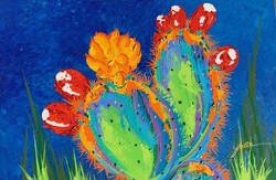 Vegas Cactus 24x36