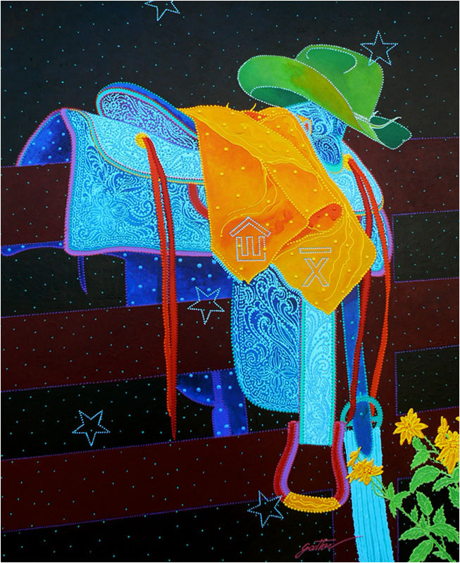 Dad's Saddle 60 x 48