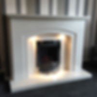 Ruby suite in Sorrento with Gem gas fire