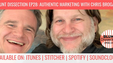 Blunt Dissection Ep28: Authentic Marketing And How It Applies To Veterinarians, with Chris Brogan