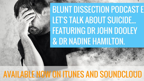 Blunt Dissection Ep 7: Let's Talk About Veterinary Suicide