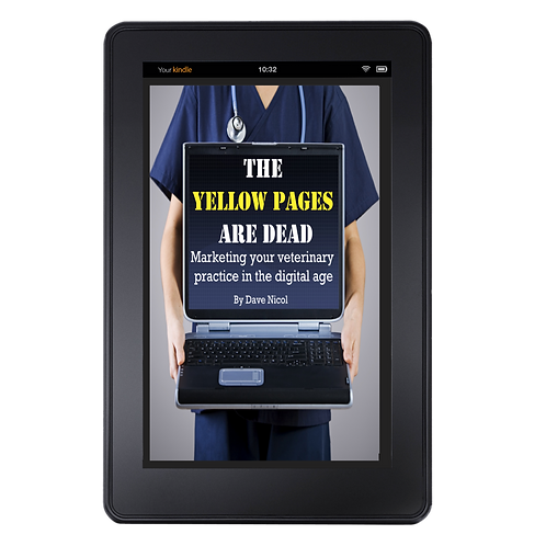 The Yellow Pages Are Dead. Digital Marketing For Vets